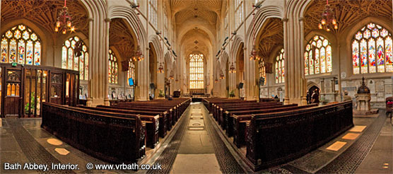 Bath Abbey interior